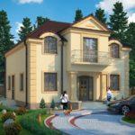 Планировка дома в египетском стиле